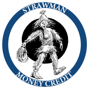 Strawman money credit logo