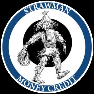 Strawman money credit logo